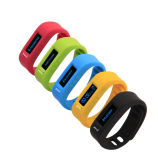 L12s Fashion Touch Screen Bluetooth Smart Bracelet Blue
