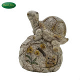Wholesale Garden Decor Statue of Tortoise on Stone