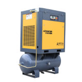 Low Rates Compressor 15kw 8 Bar Low Noise Industrial Used Screw Type Air Compressor with Air Tank Rotary Compressor
