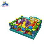 New Design 2019 Elephant Theme Cheap Trampoline Slide Bouncing Castle with Safe Net
