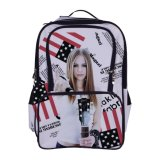 Polyester School Sublimation Printing Backpacks Fashion Sports Backpack Bag