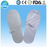 EVA Sole Velour White Hotel Slippers and Hotel Disposable Slipper