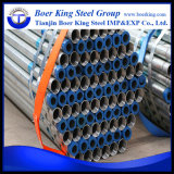 "2-1/2"" Std Pre Galvanized Steel Round Tube ASTM A500 Ss400 ERW Carbon Steel Pipe"