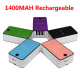 USB Rechargeable 1400mAh Portable Mini Cooler Mini Air Conditioner Cooling Fan