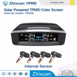 New Models Solar Wireless TPMS Tire Pressure Monitor System Temperature Monitoring USB Charge
