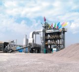 120t/h stationary asphalt hot mixing plant