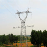 D/C Double Circuits Power Transmission Line Angle Steel Tower