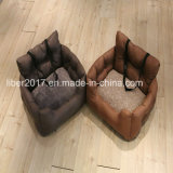Luxury Leather Pet Furniture Sofa Dog Bed on Car OEM