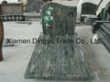 USA Style Granite Tombstone on Sale Ocean Green