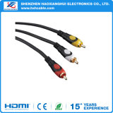 Factory Price RCA to 3 RCA Composite Audio Video Cable