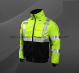 High Quality New Design Men Electrical Reflective Safety Jacket