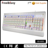 Factory Wholesale LED Backlit USB Wired Customized Keyboard Mechanical