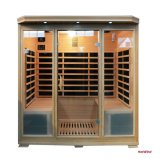 Family Sauna Cabinet Sauna Room Infrared Sauna for Four Person
