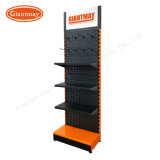 Cheap Metal Exhibition Store Tool Product Display Retail Shop Floor Pegboard Hardware Rack