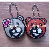 Rubber Key Cap Key Cover in Couple Design