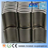 Powerful N35sh Or71xir68.5xh23mm X22.5 Tile-Shaped NdFeB Magnet