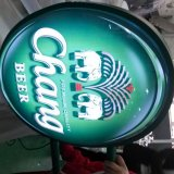 Outdoor Chang Beer Sign Board Advertising Signage 3D Logo Names Bottle Top Light Box