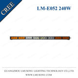 Wholesale 4X4 Straight High Power 45 Inch White Amber Car LED Light Bar 240W