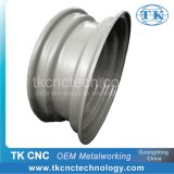 Steel Metal Auto Car Wheel Parts with Power-Coating CNC Spinning