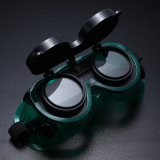Double Flip Welding Goggles, Anti-Shock and Splash-Proof Safety Glasses
