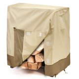 Furniture Cover New Design Heavy Firewood Log Rack Cover Cheap Big Low Price