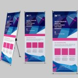 Made in China Wholesale Cheap X Stand Spider Display Banner Stand with PVC Banner with Matt Lamination