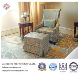 Bespoke Hotel Furniture with Living Room Chair with Ottoman (YB-S-845)