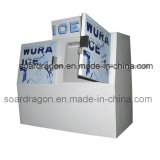 600L Double Doors Ice Merchandiser for Gas Station Bagged Ice