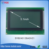 240X128 Dots LCD Module by Car 240128 with White Background LCM