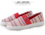Alibaba Express China Women Slip on Cheap Canvas Shoes Prices