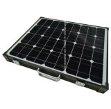 Black Frame Portable Folding Solar Module with Controller