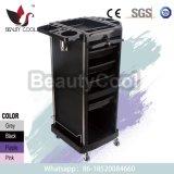 Heavy Duty Big Storage Locking Door Carts for Hair Salons