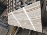 Stripe White Onyx Slabs Tiles