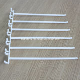 Supermarket Single Wire Plastic Pegboard Hook for Display