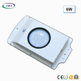 2018 Economical Type 6W Integrated LED Solar Garden Light