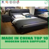 Modular Double King Size Real Leather Bed