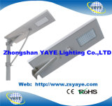 Yaye 18 Hot Sell 12 Years Production Experience 100W All in One Solar LED Street Light (8W-100W)