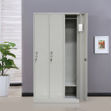 Godrej Almirah Designs with Price/Design Bedroom Furniture 3 Door Steel Metal Wardrobe