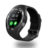 Round Screen Y1 Smart Watch Mobile Phone with SIM & TF Card