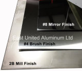 Cold Rolled Mirror Finish Stainless Steel Sheet with PVC