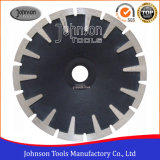 180mm Sintered Concave Blade Granite Cutting Saw Blade with T Shaped Segment