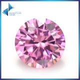 Pink Color Loose Cubic Zirconia Stones Synthetic Gemstone