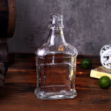 Amazon Hot Sale Bordeaux Glass Wine Bottle Whisky Bottle/Glass Liqueurs Bottle