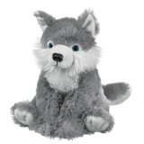 Stuffed Wolf Custom Plush Toy
