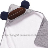 Printed Hooded Cotton Baby Blanket Kids Blanket (HR14KB008)