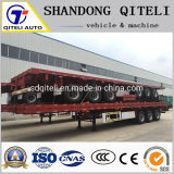 20FT 40 Feet China Cheap Flatbed Container Truck Semi Trailer