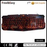Cool Backlit Professional Wired Game Keyboard