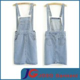 Denim Jean Suspenders Skirt (JC2052)