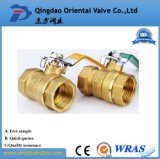BSPT/NPT Thread Type Brass Ball Valve Full Size with Chrome Plated for Oil