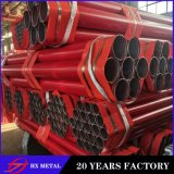 BS 1387 ASTM a 53 Steel Pipe/Fire Fire Fighting Steel Pipes/Zinc Pipe Price/ERW Steel Pipe/4 Inch Red Steel Pipe/Grooved End Steel Pipe/Galvanized Steel Pipe